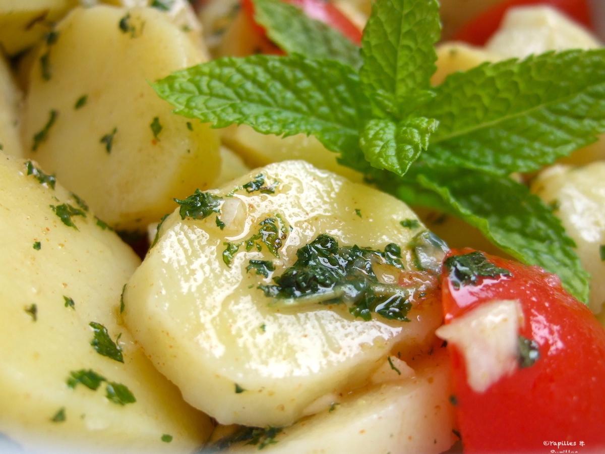 Salade de pommes de terre comme là bas dit