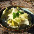 Poireaux en salade