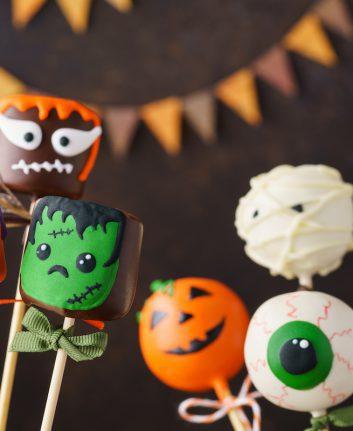 Sucettes Halloween ©deryabinka shutterstock