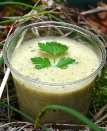Soupe aux herbes