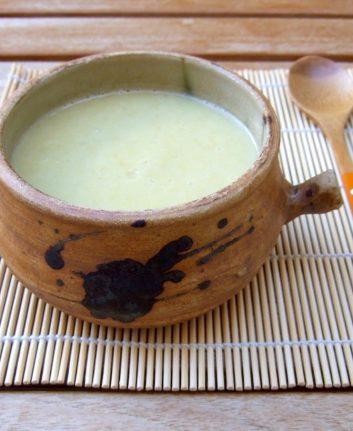 Soupe de poireaux pommes de terre