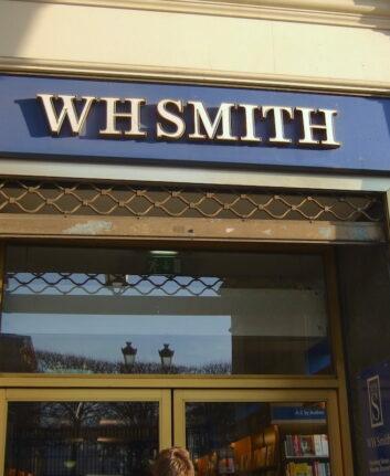 Paris Librairie Anglaise WH SMITH