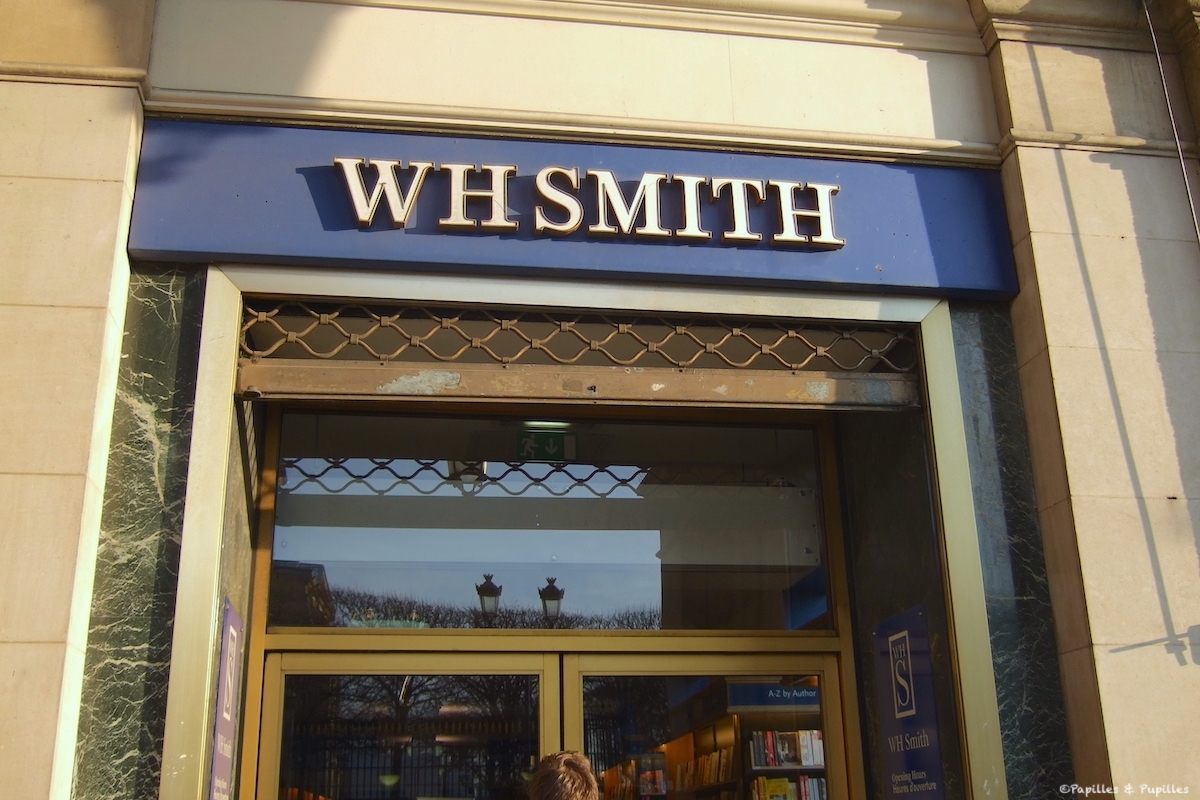Paris Librairie Anglaise WH SMITH