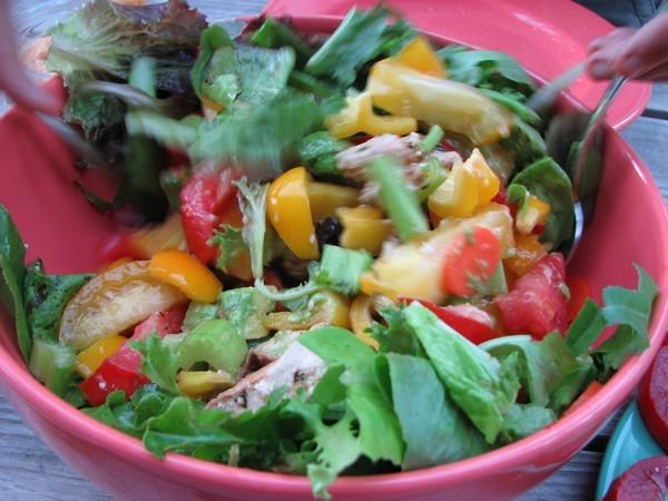 Salade composée ©Crysaora licence CC BY 2.0
