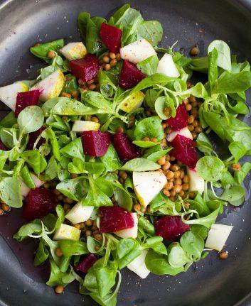 Salade composée (c) Einladung zum Essen - CC0 Pixabay