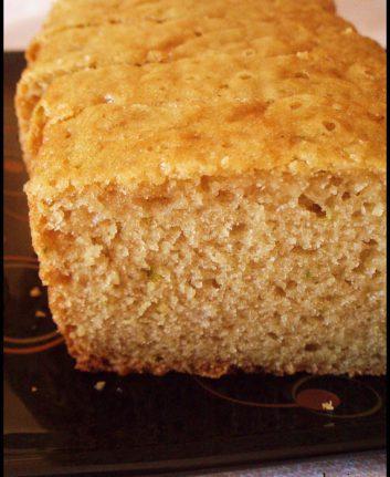 Cake au citron vert - Sans oeufs sans lait
