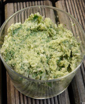 Beurre d'herbes