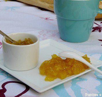 Confiture ananas rhum gingembre