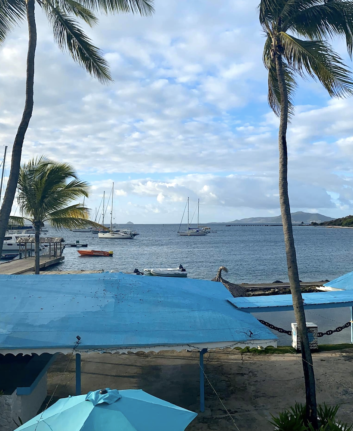Early morning in Union Island.