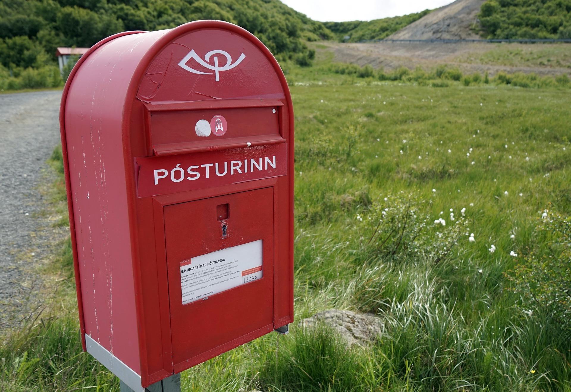 Boite aux lettres ©Barni1 CC0 Pixabay
