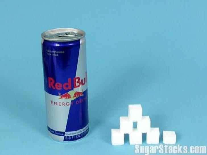 Combien de sucres dans le Red Bull