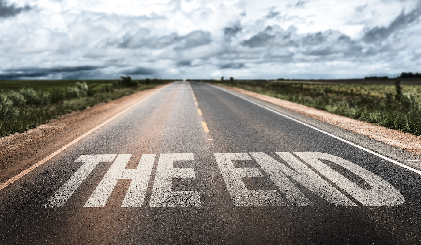 The End ©ESB Professional shutterstock