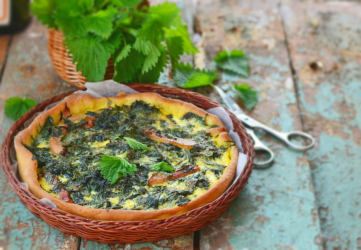 Quiche aux orties ©zoryanchik shutterstock