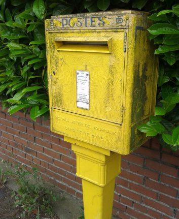 Boite aux lettres ©Maarteke CC0 Pixabay