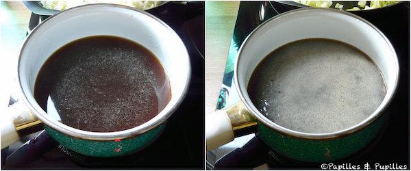 Préparation de l'arôme de cèpes