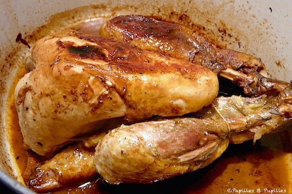 Pintade laqu e au miel et la sauce soja - Comment cuisiner des cuisses de pintade ...