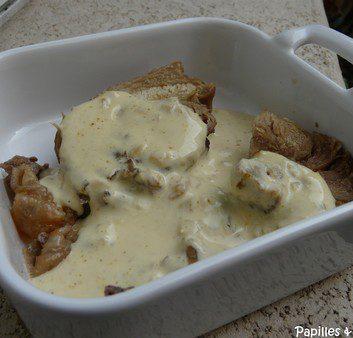 Rôti de dindonneau sauce au curry