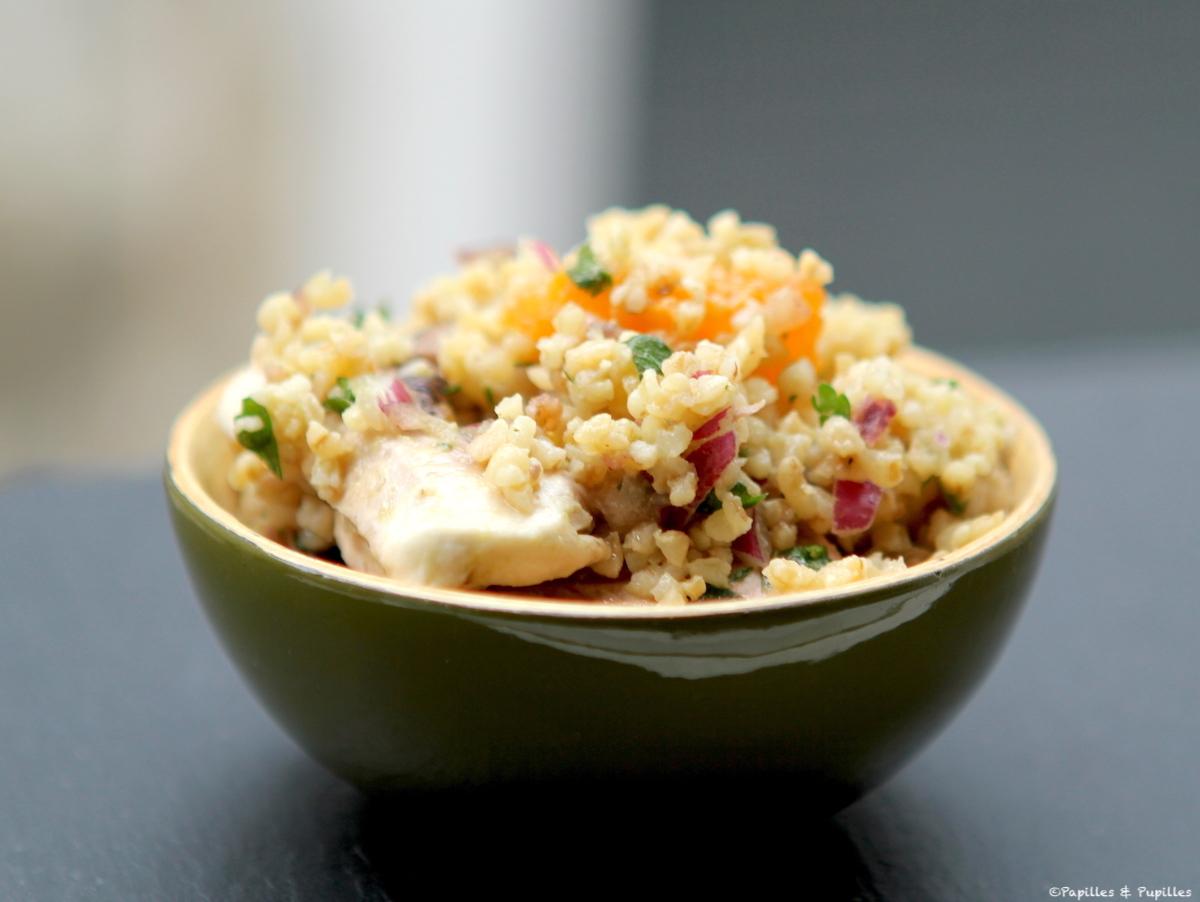 Salade vitaminée au boulghour