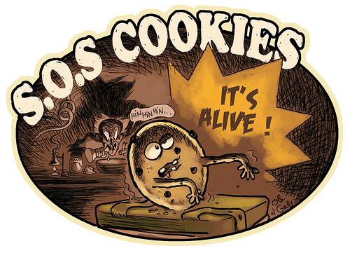 Etiquette SOS Cookies