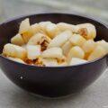 Navets au miel et aux noix concassées