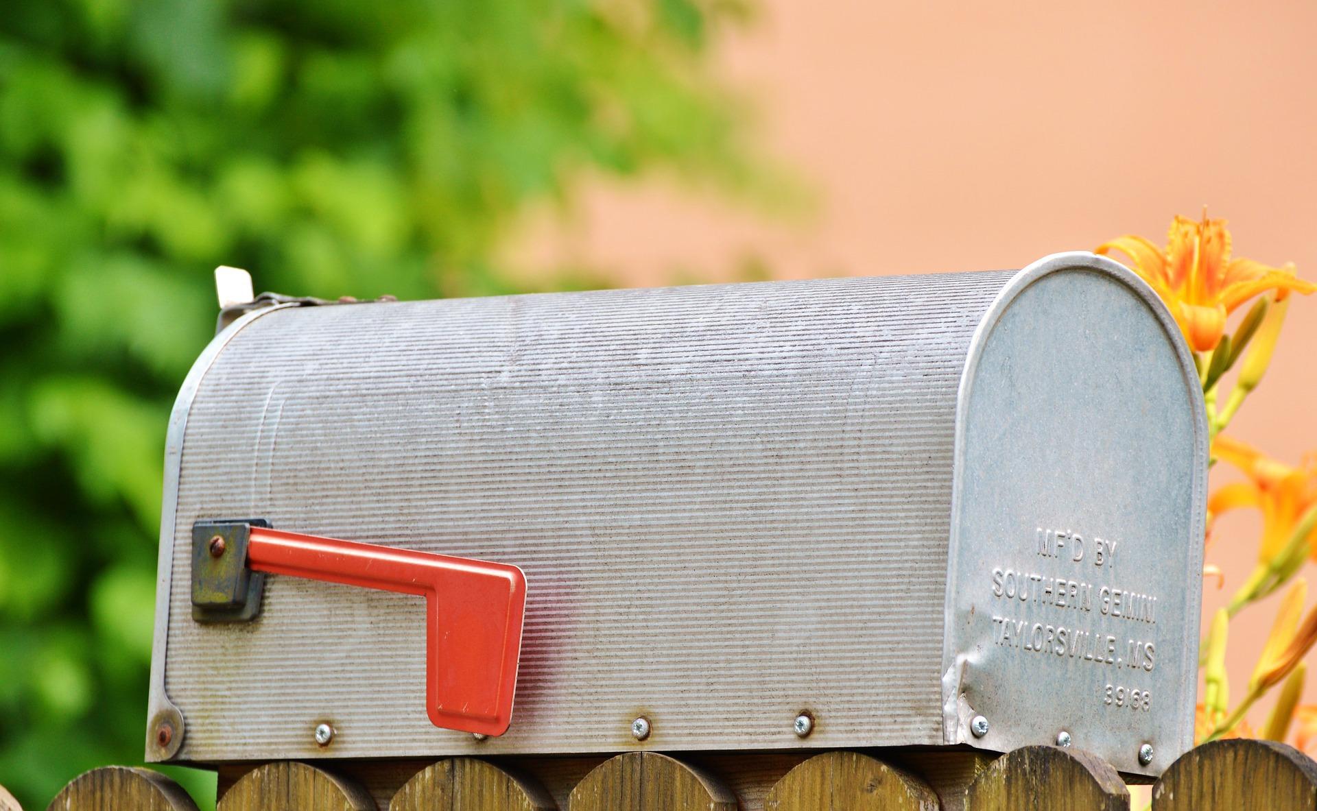 Boite aux lettres ©Capri23auto CC0 Pixabay