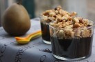 Crumble poires danette chocolat