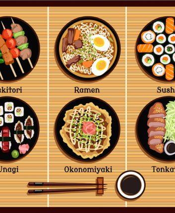 Spécialités japonaises ©robuart shutterstock