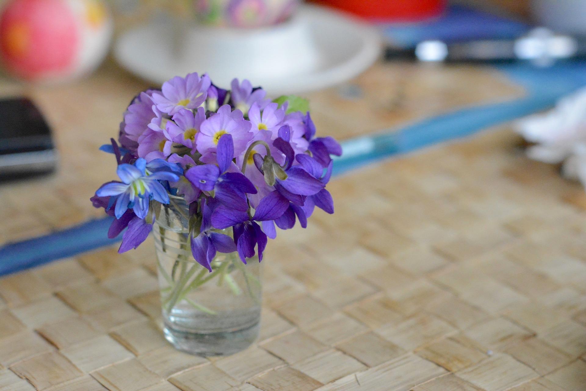 Bouquet de violettes ©utroja0 CC0 pixabay