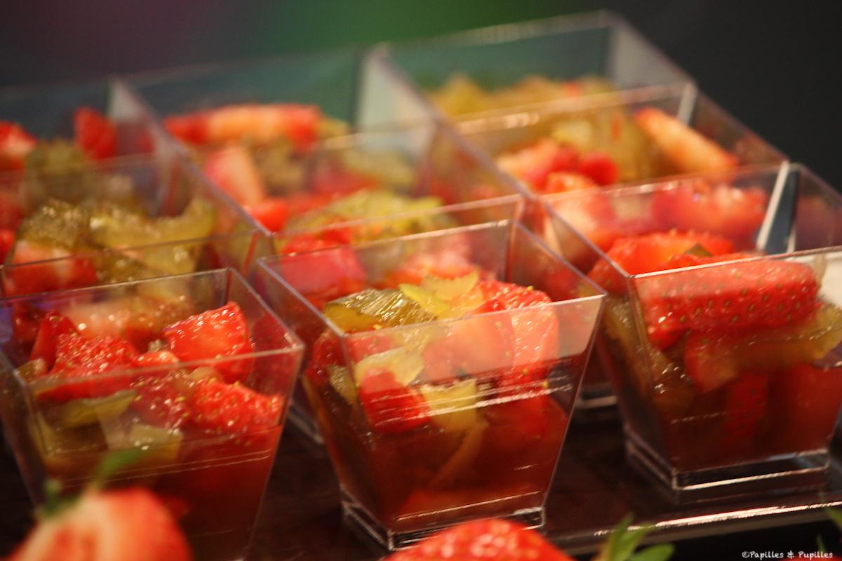 Céleri aux fraises