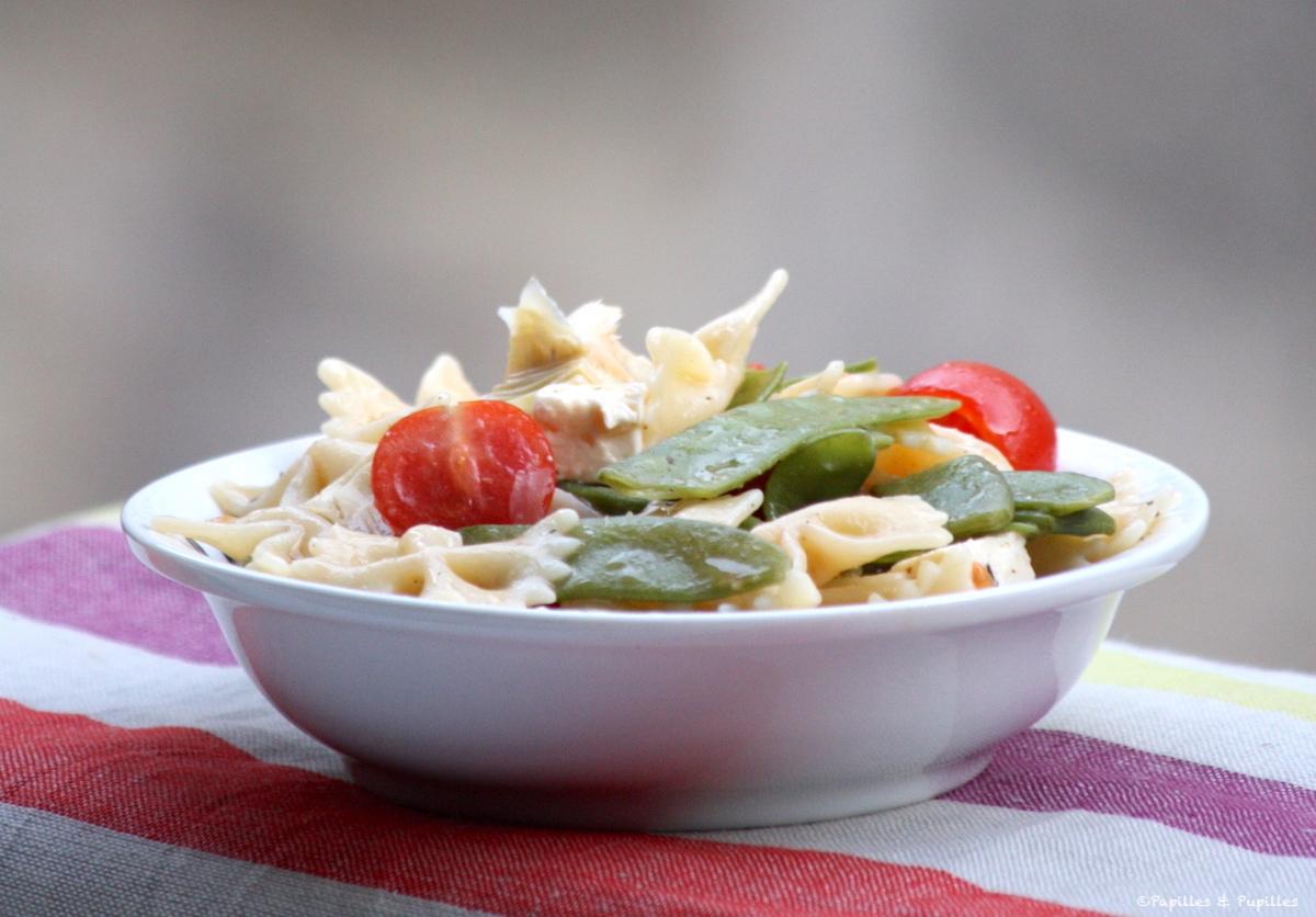 Salade de pâtes du dimanche soir