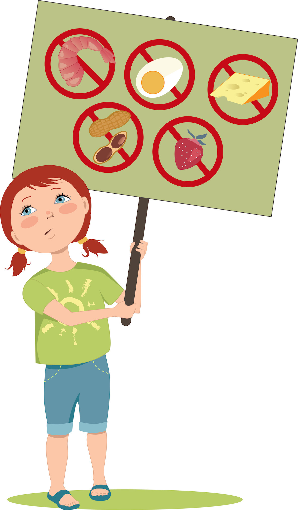 Allergie alimentaire enfant ©Aleutie shutterstock