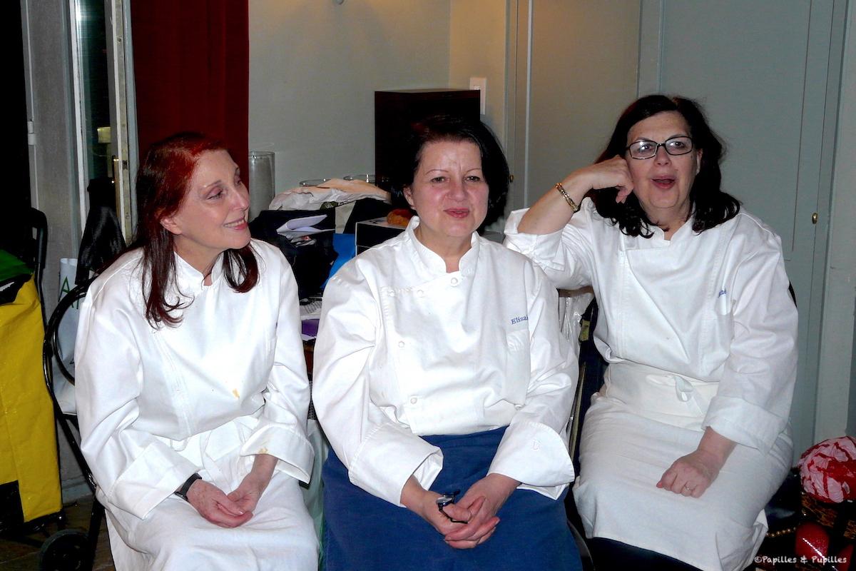 Les soeurs Scotto - Marianne, Elisabeth et Michèle