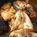 Poulet au sirop d'érable