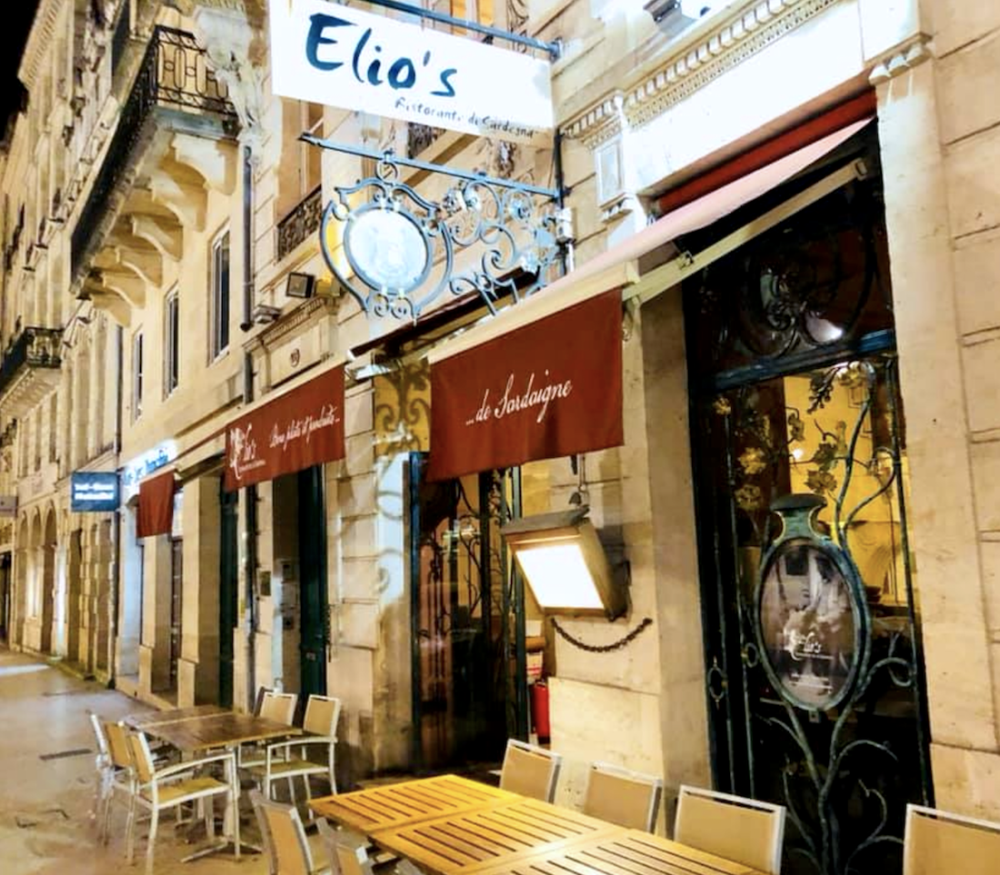 Elio's restaurant Bordeaux