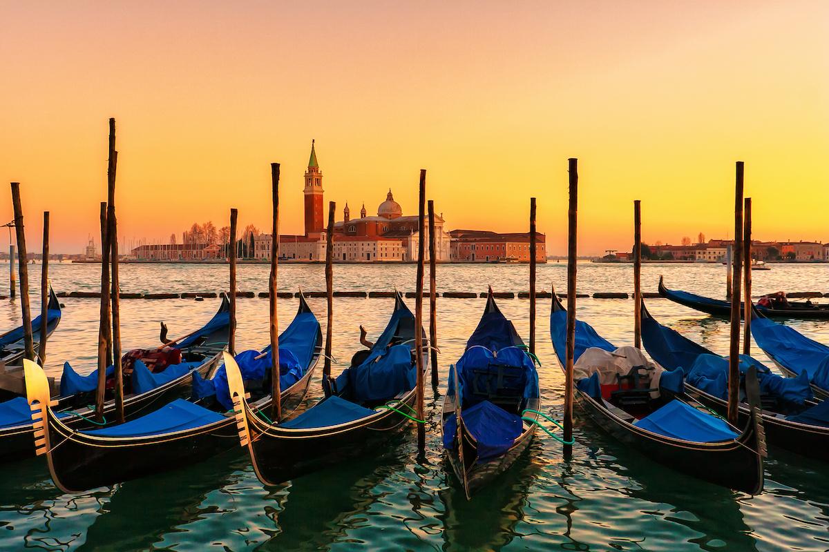 Carte postale : Venise