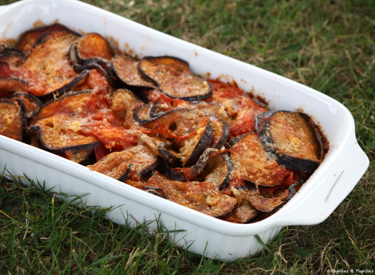 Aubergines façon Parmesane