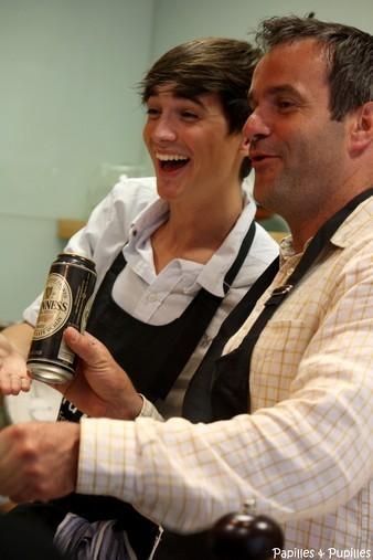 Donal Skehan et chef Damien