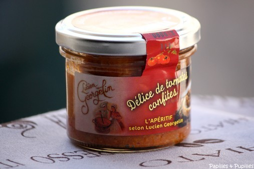 Délice de tomates confites - Lucien Georgelin