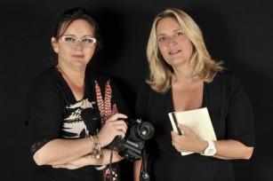 Nathalie Kaid et Marie Laure Hubert Nasser