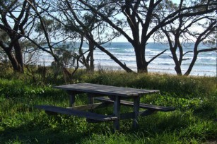 Pique nique - Table et océan