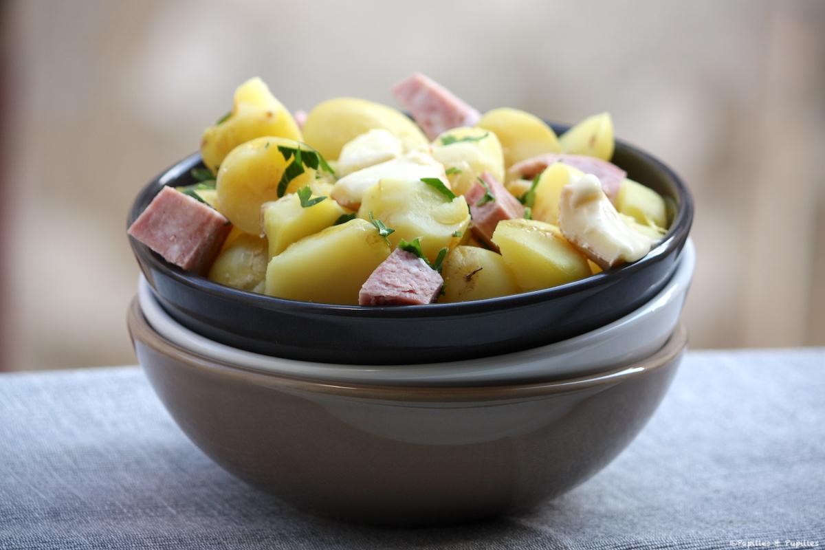 Salade aux pommes de terre de l'île de Ré et Reblochon