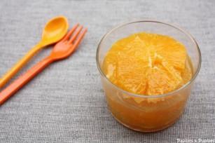 Salade d'oranges au miel