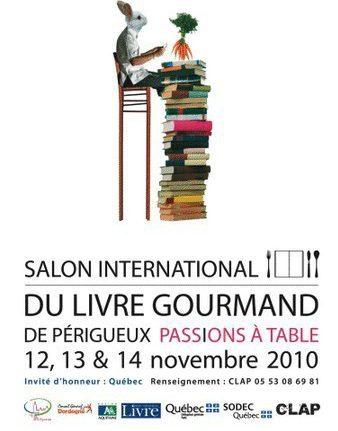 Salon International du Livre Gourmand De Périgueux 2010