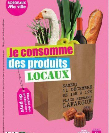 Affiche 2010 - Marché des producteurs - Bordeaux