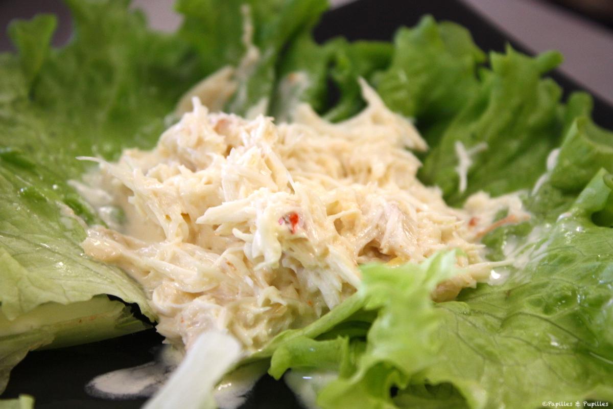 Bouchées apéritives au crabe