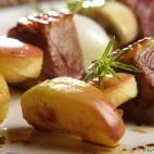 Brochettes de magret de canard aux pommes Antares