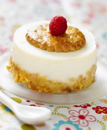 Cheesecake au citron, au mascarpone et aux sablés bretons