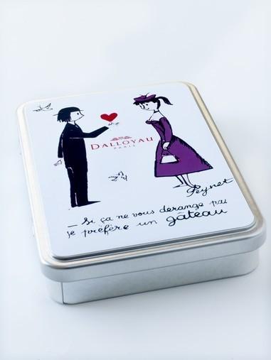 Dalloyau Saint Valentin 2011 - Peynet
