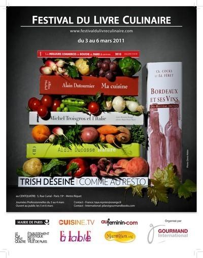 Festival du livre culinaire