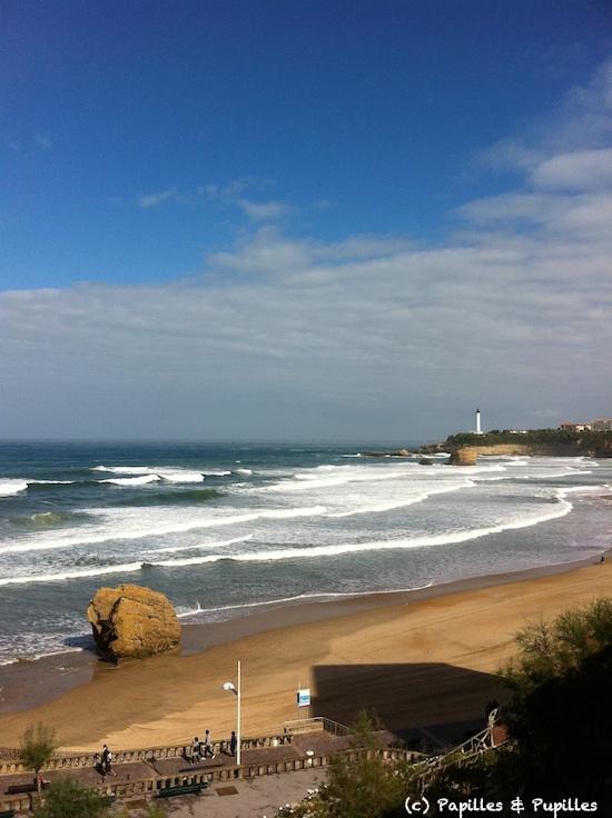La plage - Biarritz